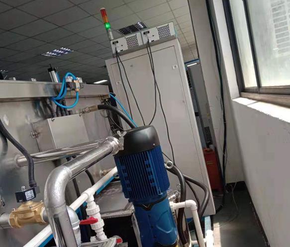电机端盖通过式超声波高压喷淋清洗机电控箱