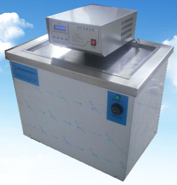 单槽超声波清洗机1200w正面拍摄图
