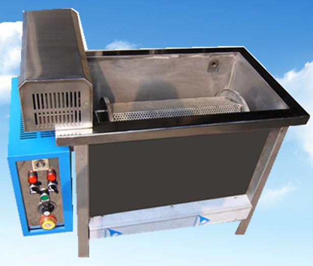 单槽旋转超声波清洗机整体外观拍摄图