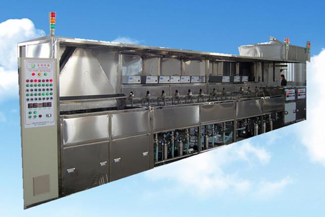 18槽手动光学超声波清洗机正面