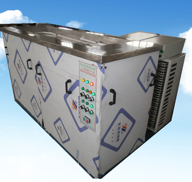 3槽过锡炉治具溶剂超声波清洗机正面