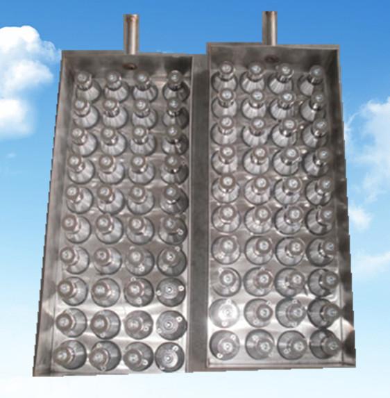 日本NTK晶片组装换能器分布实物拍摄图