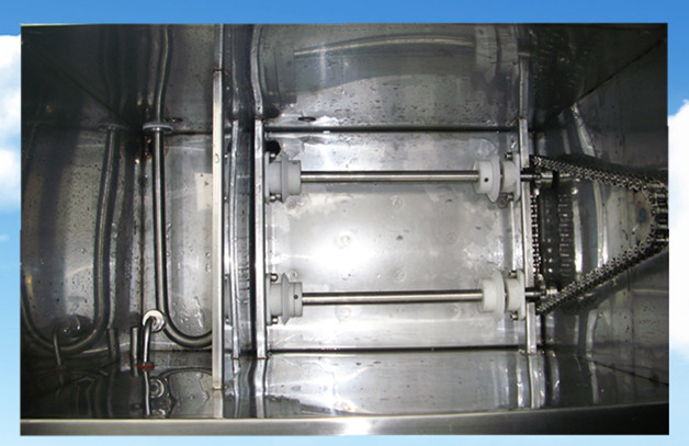 单槽旋转超声波清洗机旋转机构