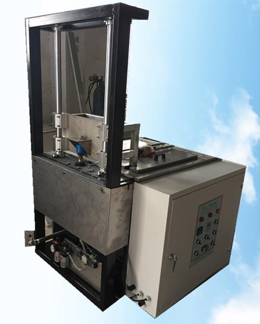 单槽模具升降式超声波清洗机气动提升机构