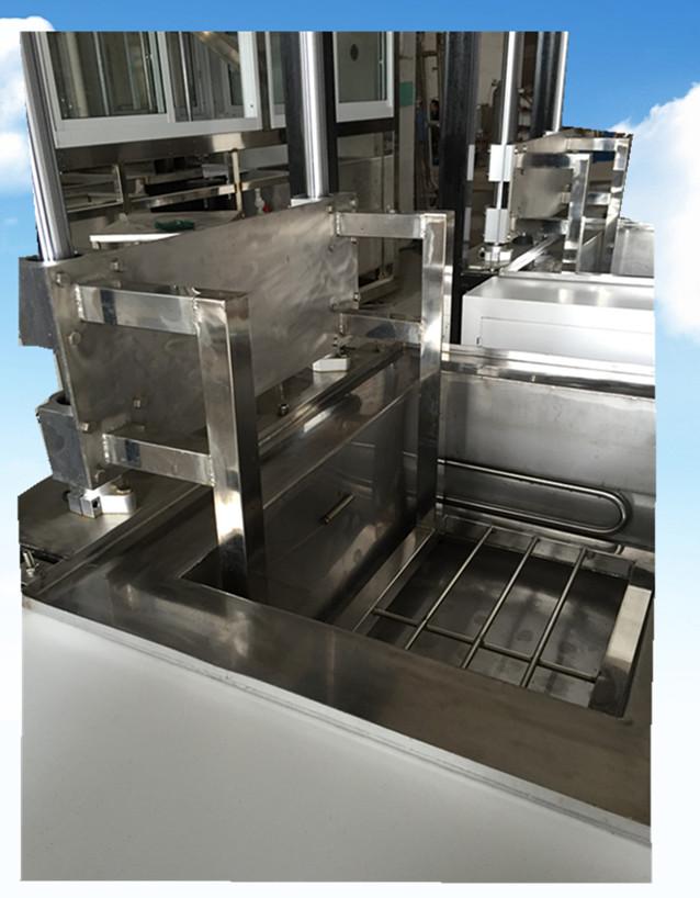 单槽模具升降式超声波清洗机不锈钢托架