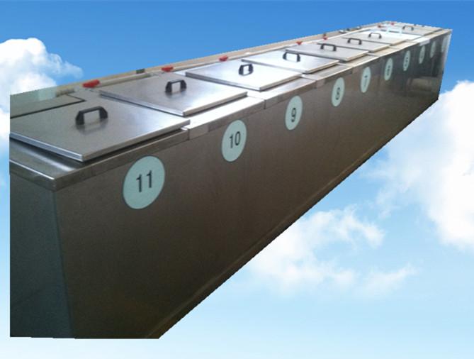 11槽手动超声波清洗机