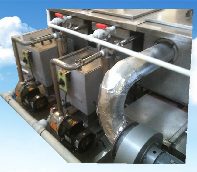 11槽手动铜管铝管超声波清洗机烘干系统