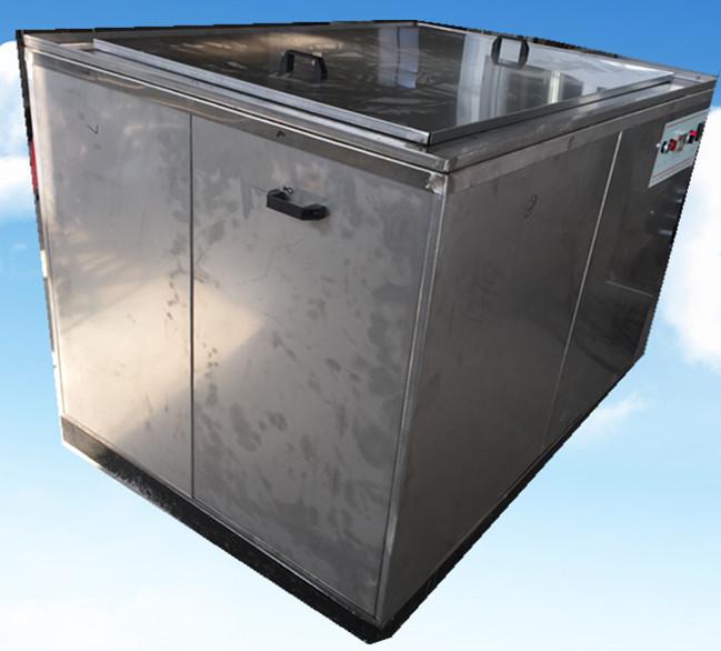 单槽汽车发动机零部件超声波清洗机侧面