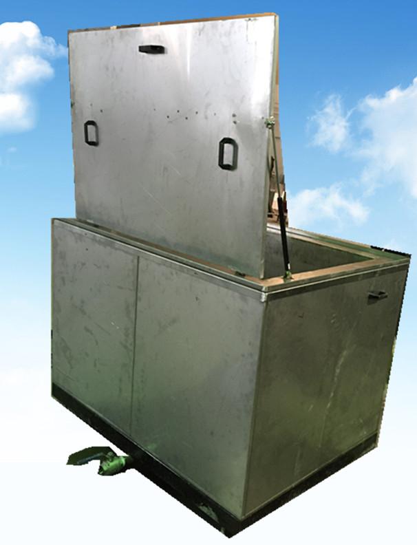 单槽汽车发动机零部件超声波清洗机活动缸盖
