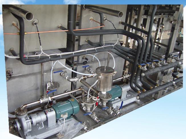 18槽手动光学超声波清洗机导热油加热系统