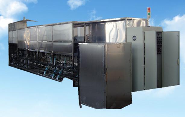 18槽手动光学超声波清洗机后面