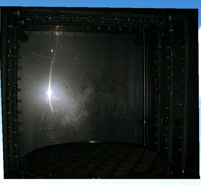 房式高压喷淋清洗设备旋转转盘系统