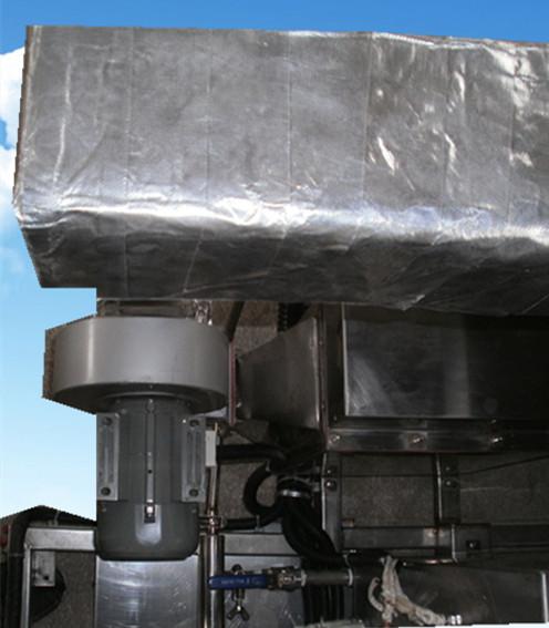 六槽手动超声波清洗机后面储液槽