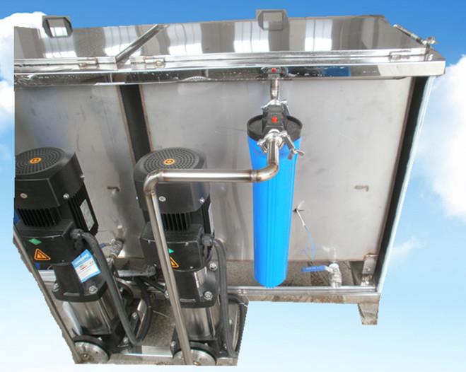 4槽水剂手动超声波清洗机循过滤系统