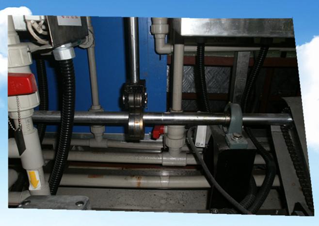 5槽水剂手动超声波清洗机抛动系统