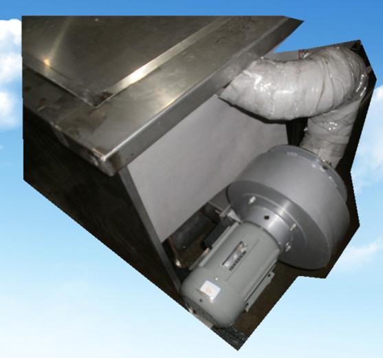 六槽手动超声波清洗机后部烘干系统