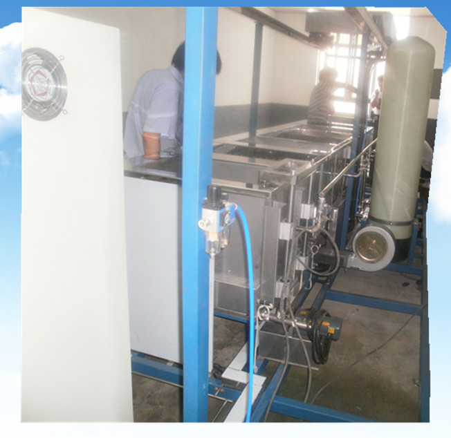 全自动半封闭荧光液探伤超声波清洗机活性炭过滤系统