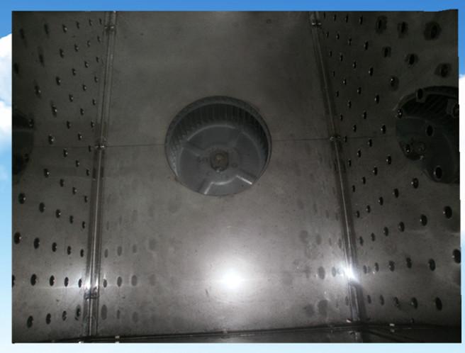 全自动半封闭荧光液探伤超声波清洗机热风系统
