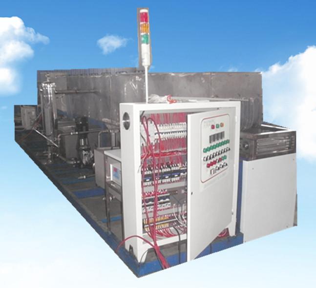 五金模具通过式超声波清洗机侧面电控系统