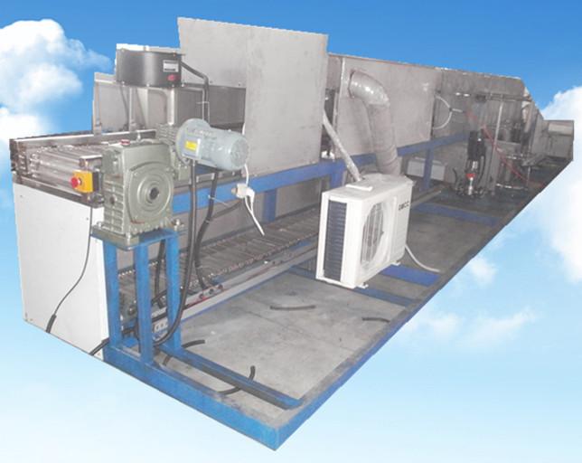 五金模具通过式超声波清洗机空调冷却系统