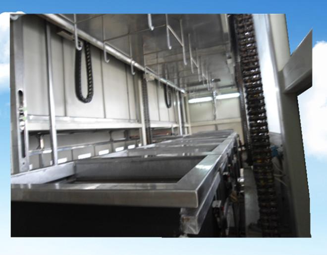 全自动汽车管路零件超声波清洗机龙门多臂系统