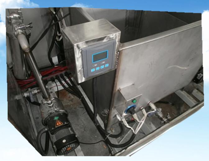 全自动不锈钢封头管件超声波清洗机PH在线酸碱浓度检测仪器