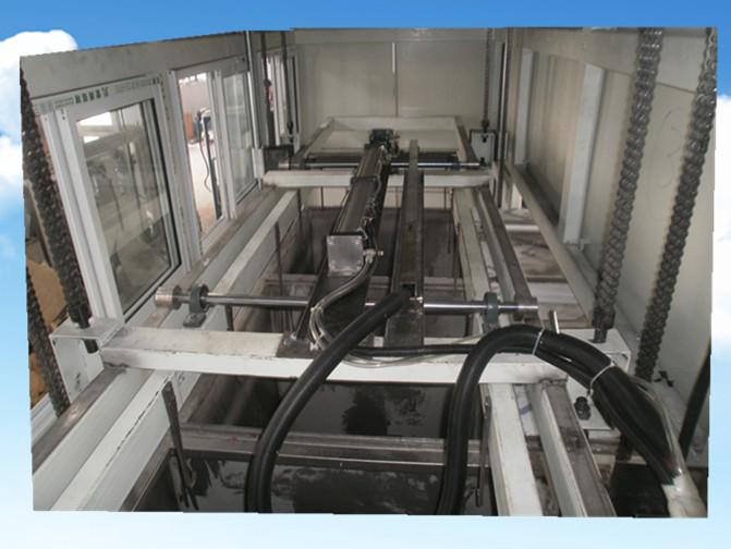 全自动不锈钢封头管件超声波清洗机横移系统