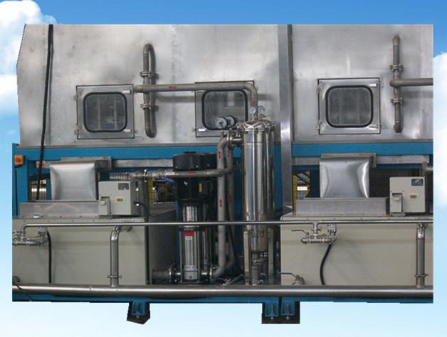 轮毂通过式高压喷淋清洗设备喷淋过滤系统