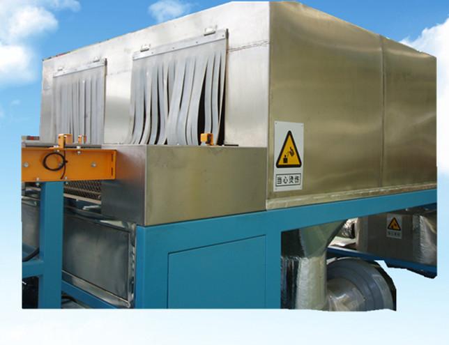轮毂通过式高压喷淋清洗设备热风烘干装置